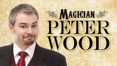 Magician Peter Wood
